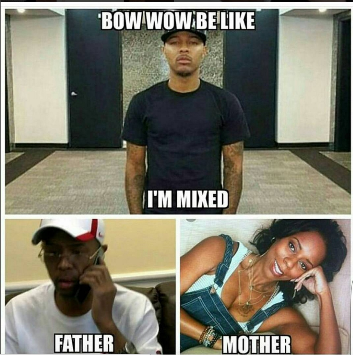 Bow Wow Mixed Meme 10 memes about bow wow not voting because he's mixed hiphopdx,Bow Wow Meme