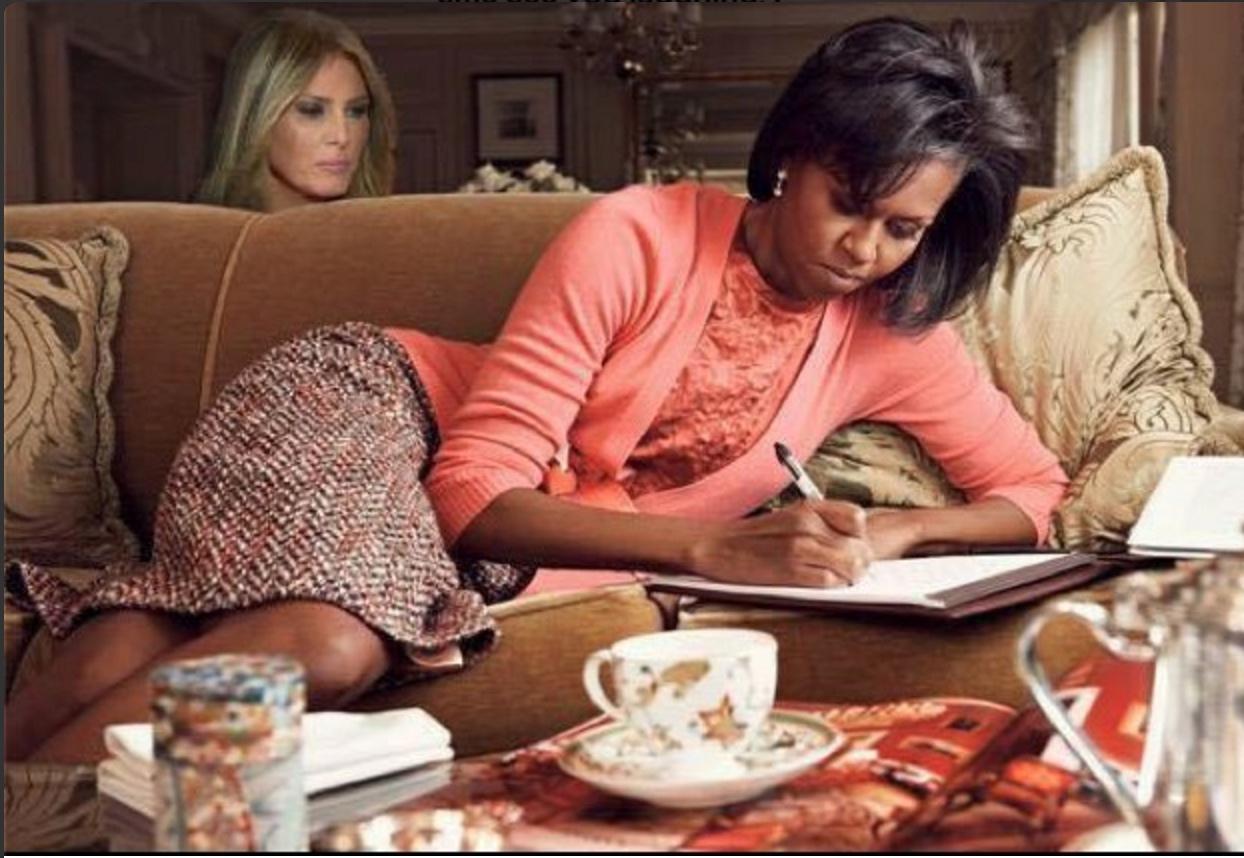 Melania Plagiarized Michelle Obama - Meme 10
