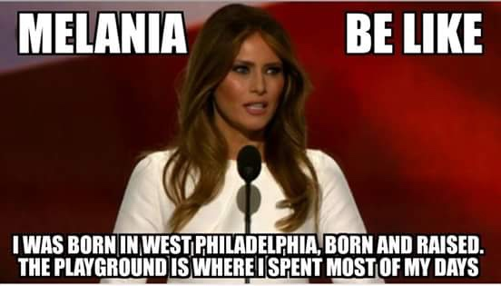 Melania Plagiarized Michelle Obama - Meme 4
