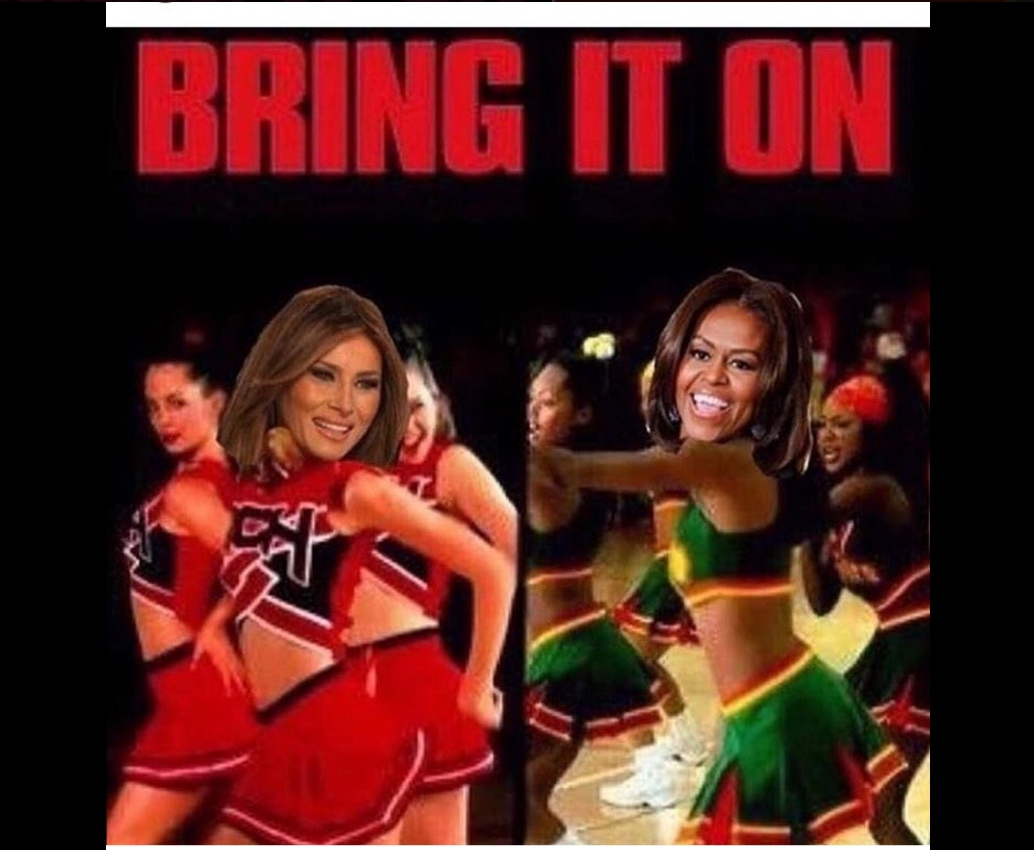 Melania Plagiarized Michelle Obama - Meme 8