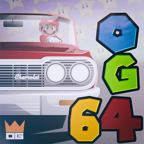 """Otaku Gang """"OG64"""" mixtape cover art"""