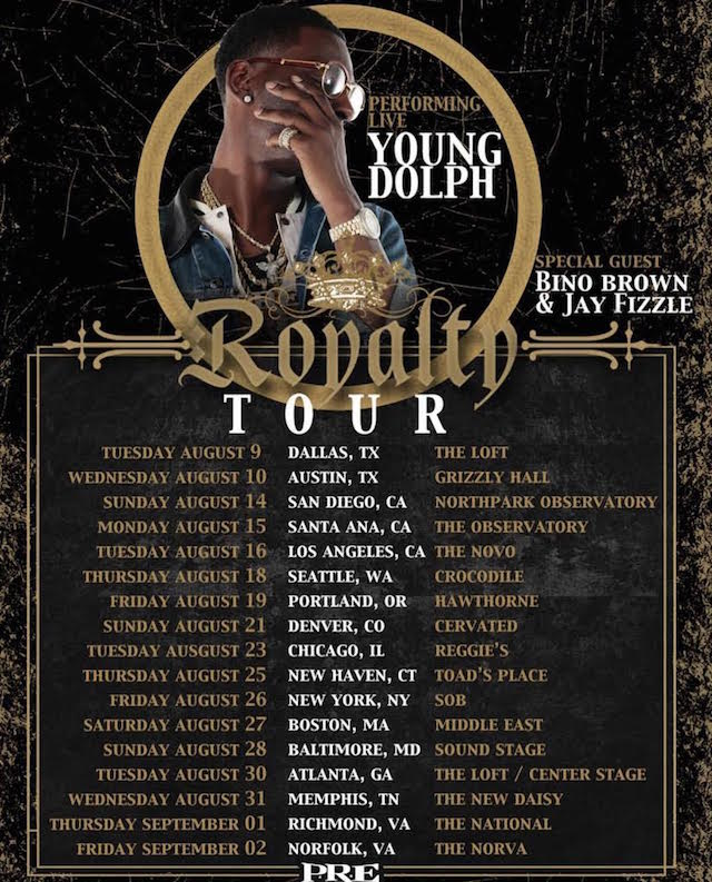 Young Dolph Royalty Tour