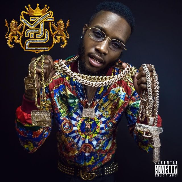"Shy Glizzy ""Young Jefe 2"" cover art"