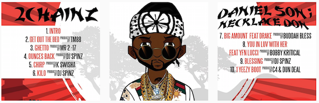 2 Chainz Birthday Song Album Cover
