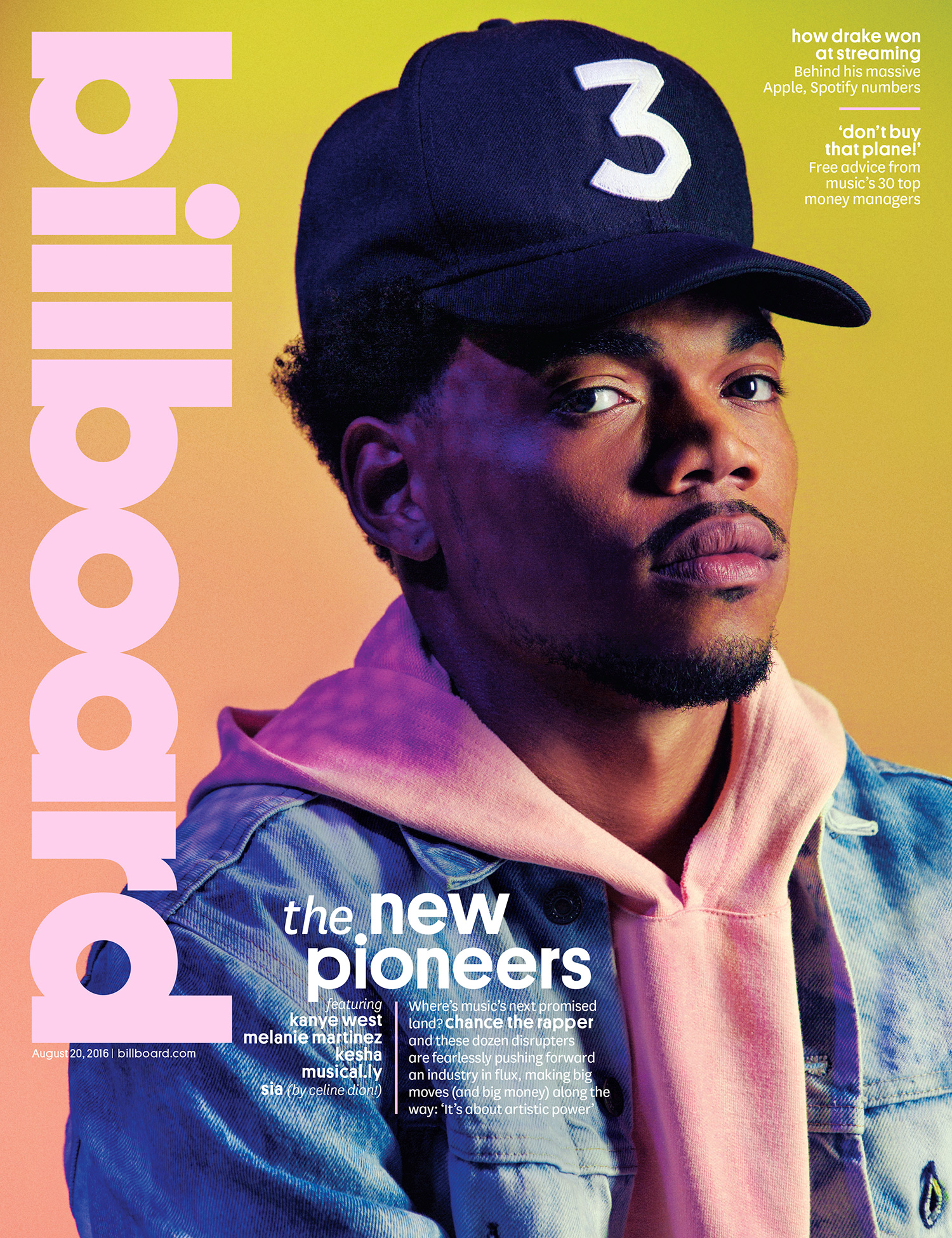 chance the rapper talks personal responsibility in billboard cover