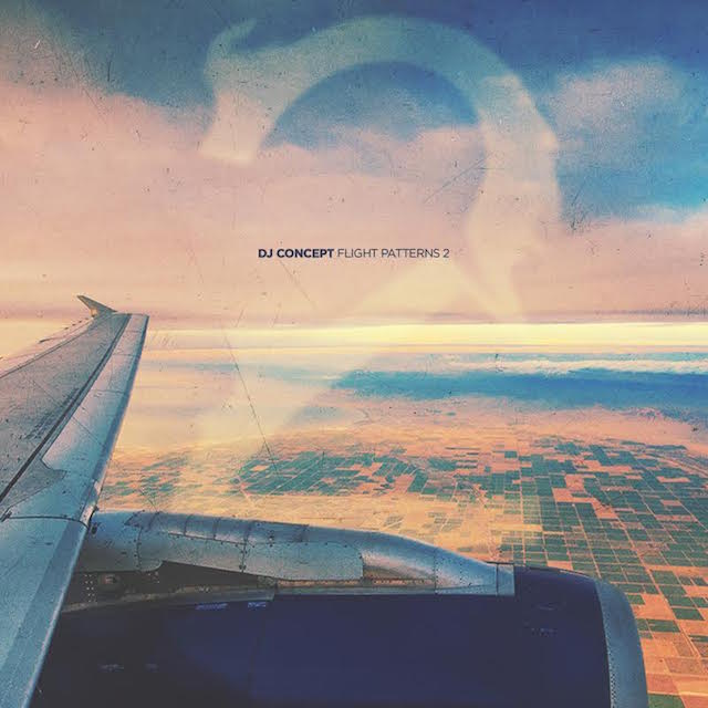 "DJ Concept ""Flight Patterns 2"" cover art"