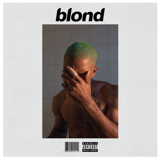 "Frank Ocean ""Blonde"" album cover"