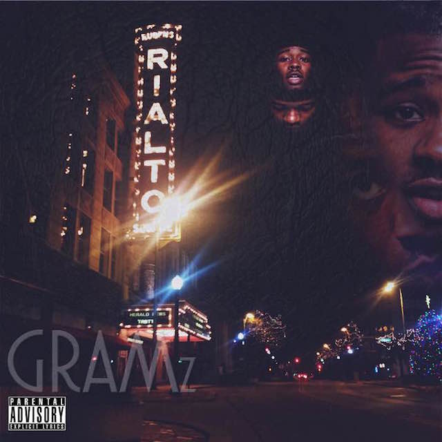 """Gramz """"Rialto"""" mixtape cover art"""