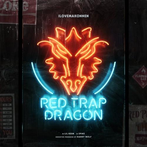 ILOVEMAKONNEN Red Trap Dragon mixtape cover art