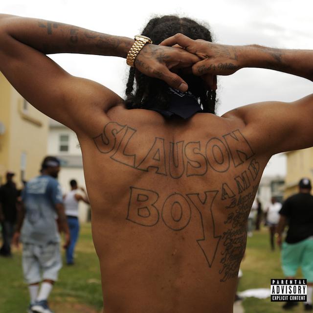 "Nipsey Hussle ""Slauson Boy 2"" mixtape cover art"