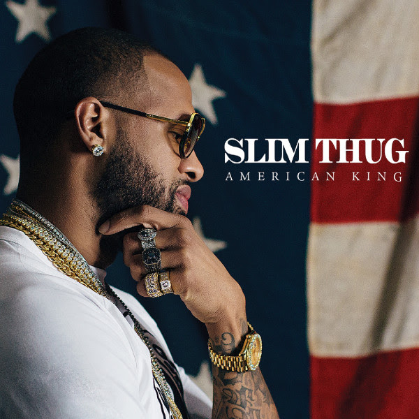 "Slim Thug ""Hogg Life vol. 4 American King"" cover art"