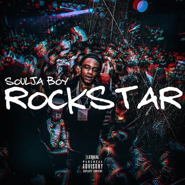 "Soulja Boy ""Rockstar"" cover art"
