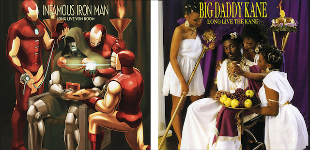 Big Daddy Kane Infamous Iron Man Marvel