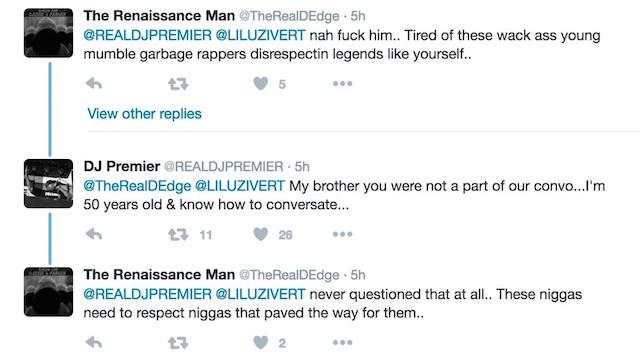 DJ Premier makes it clear he has no beef with Lil Uzi Vert