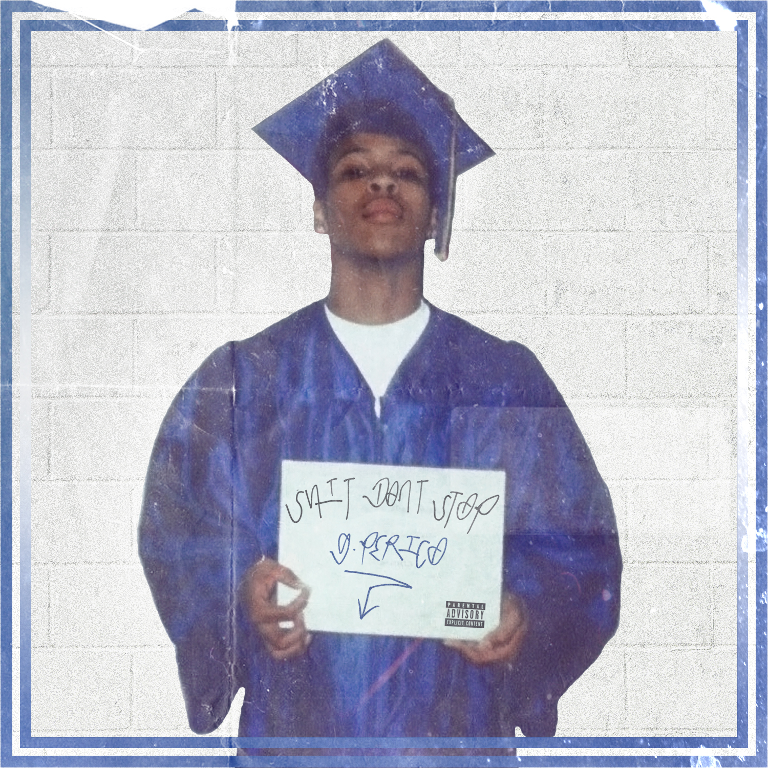 "G Perico ""Shit Don't Stop"" Mixtape cover art"