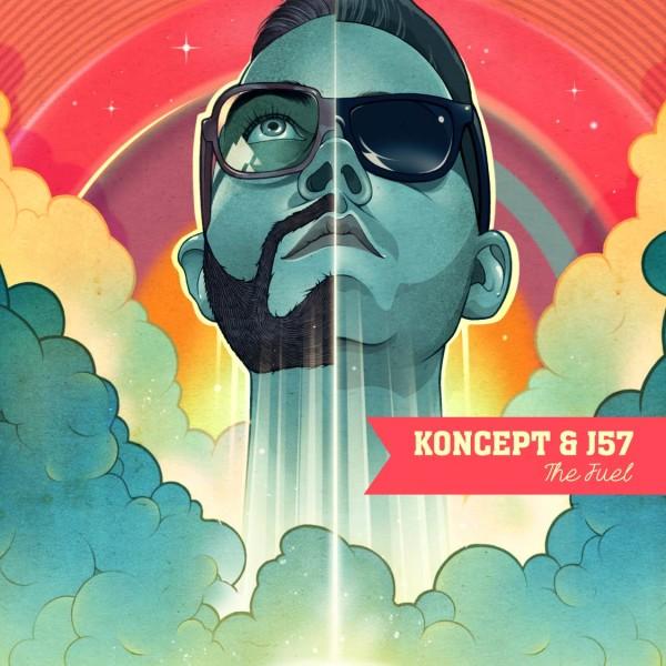 KON57 TheFuel EP Cover Digi