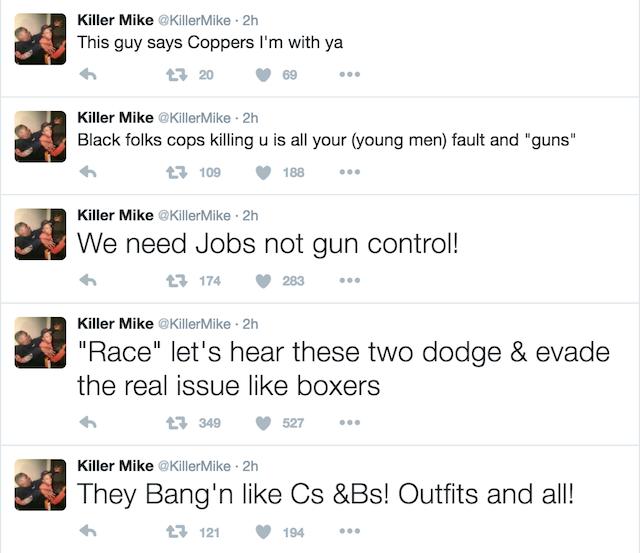 Killer Mike debate 3