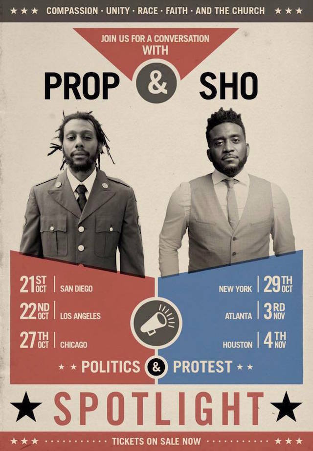 Propaganda Sho Baraka Spotlight tour flier