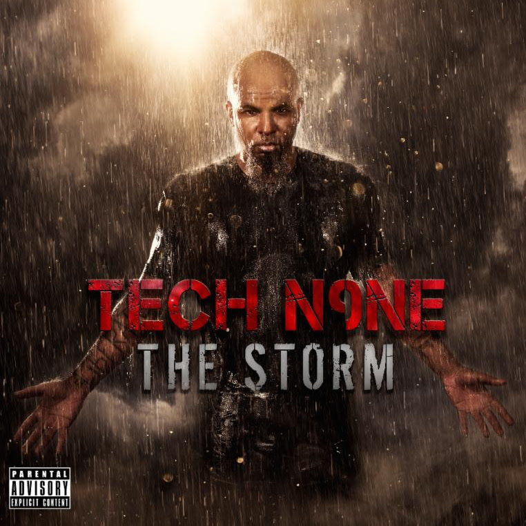 Tech N9ne The Storm cover art