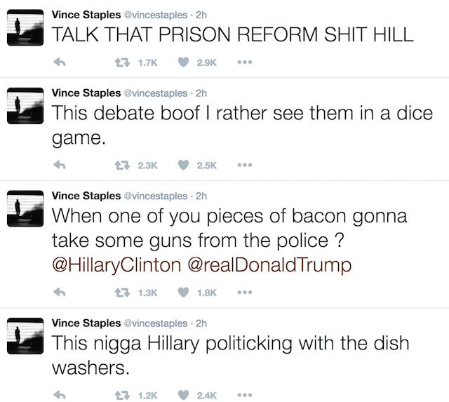 Vince Staples debate 1