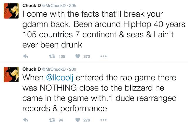Chuck D Tupac LL Cool J 2