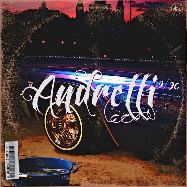 Curren$y Andretti 9/30 mixtape cover art