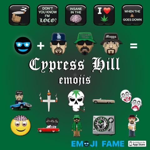 Cypress Hill emojis
