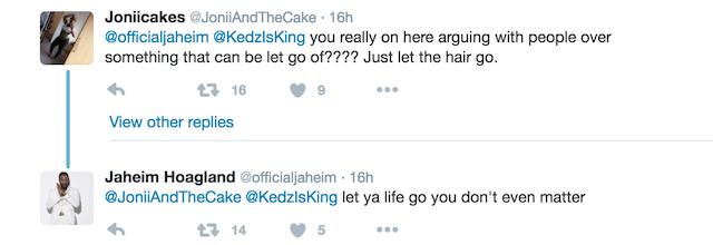 Jaheim hairdo trolls 2