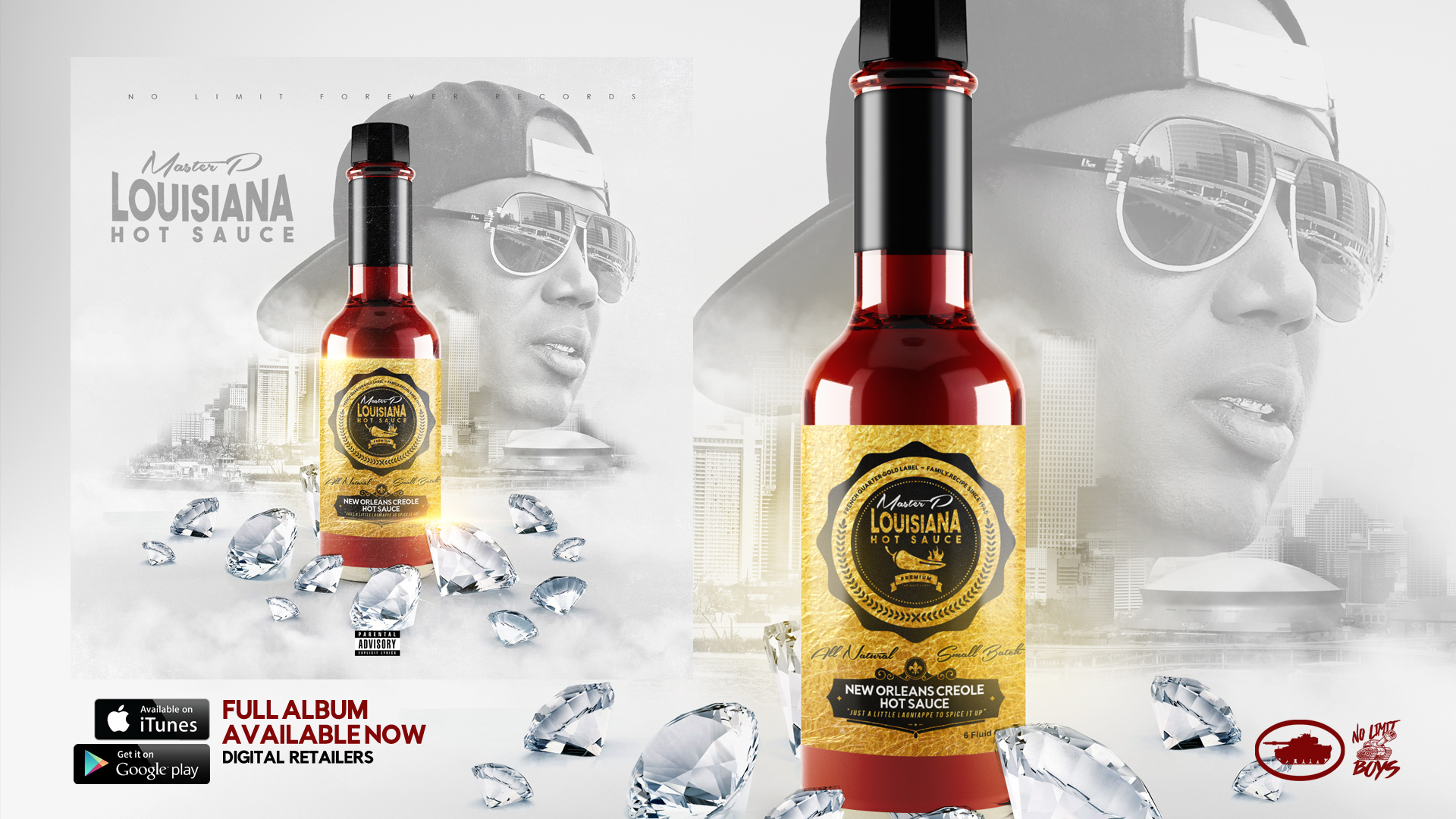 "Master P's ""Louisiana Hot Sauce"" Brings The Heat"