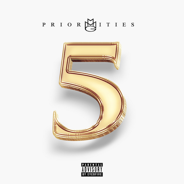 MMG Priorities 5 mixtape cover art