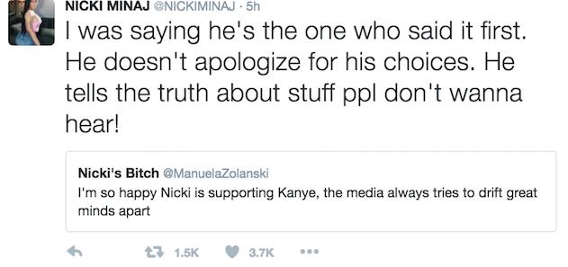 Nicki Minaj Kanye West 2