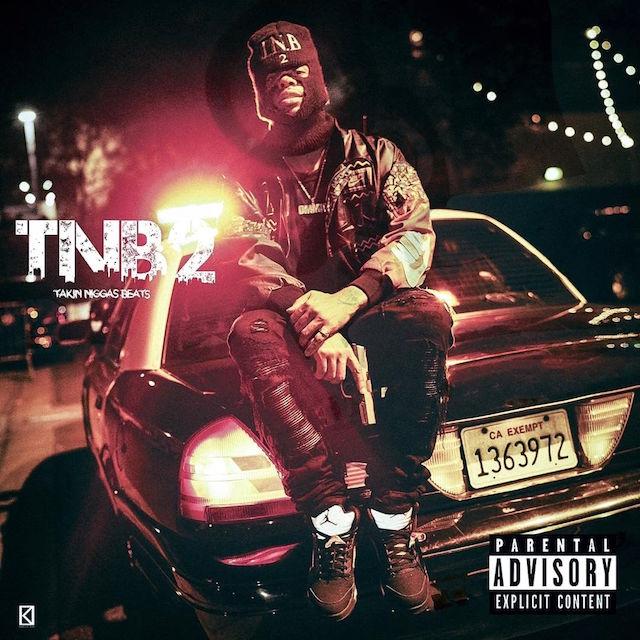 RJ Takin Niggas Beats 2 mixtape cover art