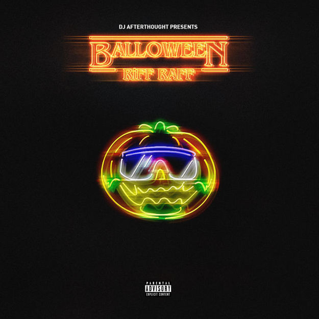 RiFF RAFF Balloween album cover art