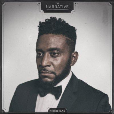 "Sho baraka ""The narrative"" album cover art"