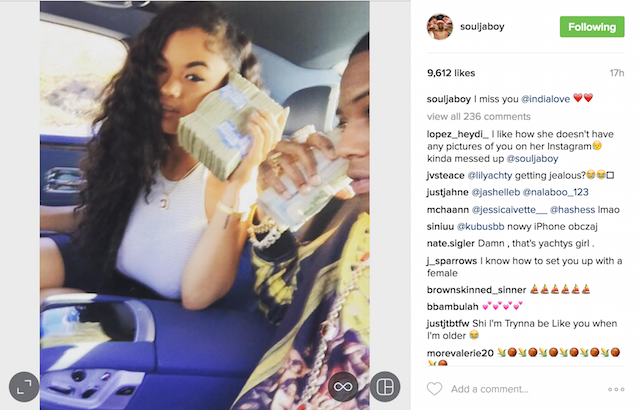 Soulja Boy Dating India Westbrooks And The Game