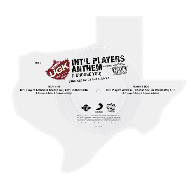UGK Outkast Int'l Players Anthem Texas vinyl 2