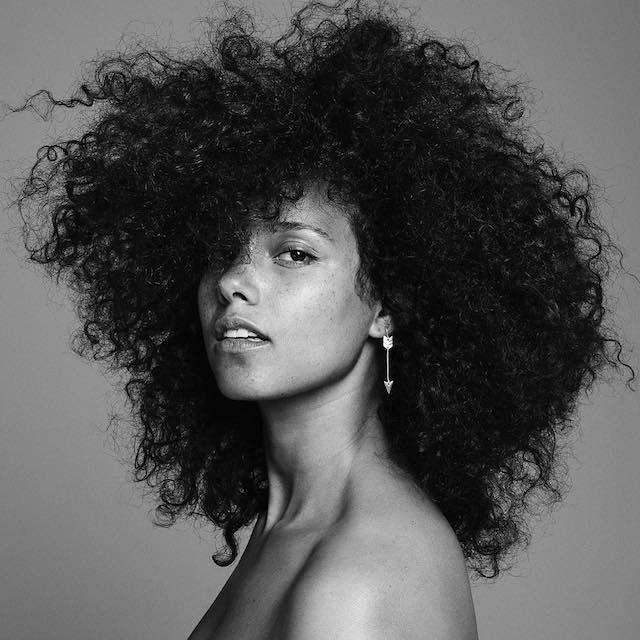 Alicia Keys HERE album cover art