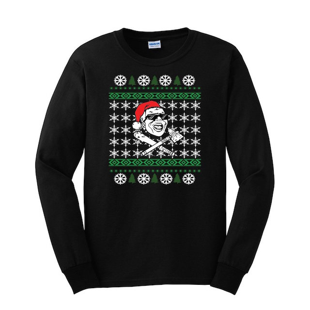 Jarren Benton ugly christmas sweater