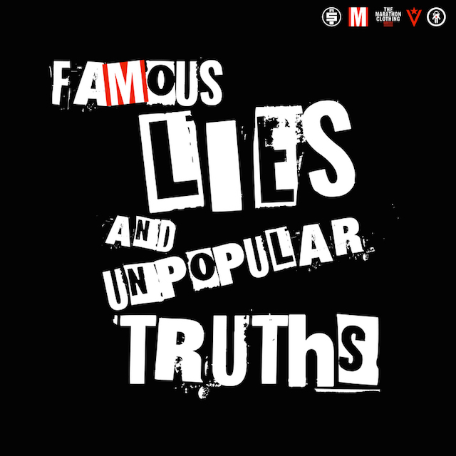 Nipsey Hussle Famous Lies and Unpopular Truths ep cover art