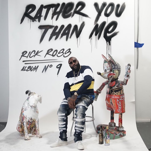 Rick Ross Rather You Than Me Album cover art