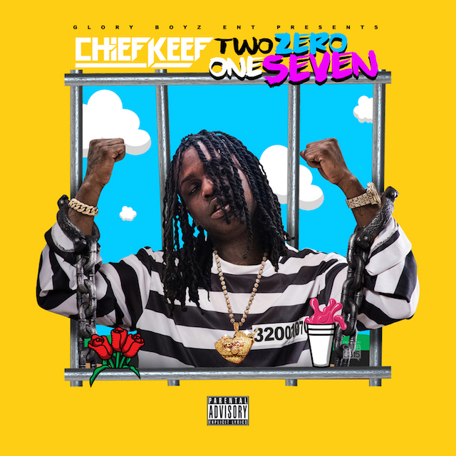 Chief Keef Two Zero One Seven cover art