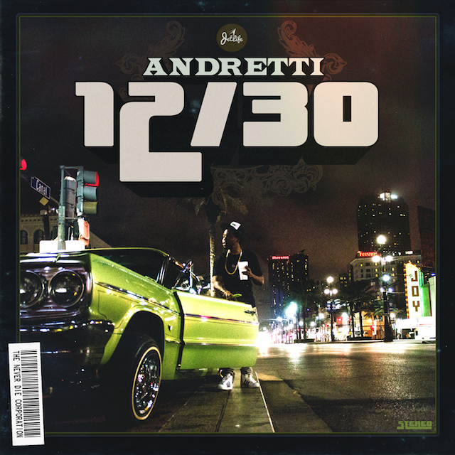 Currensy Andretti 1230 mixtape cover art