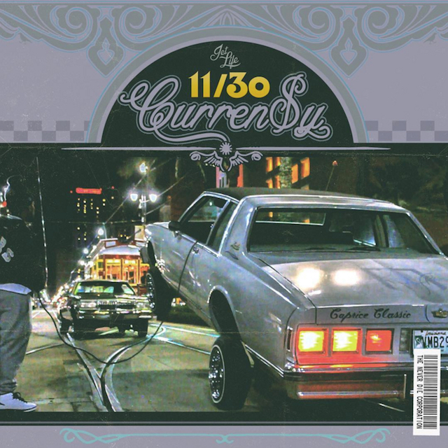 Curren$y 11/30 mixtape cover art