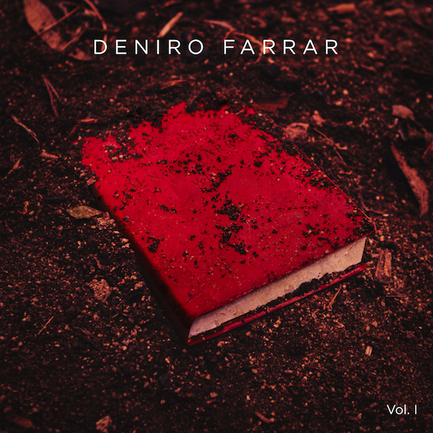 Deniro Farrar Red Book vol. 1 ep cover art