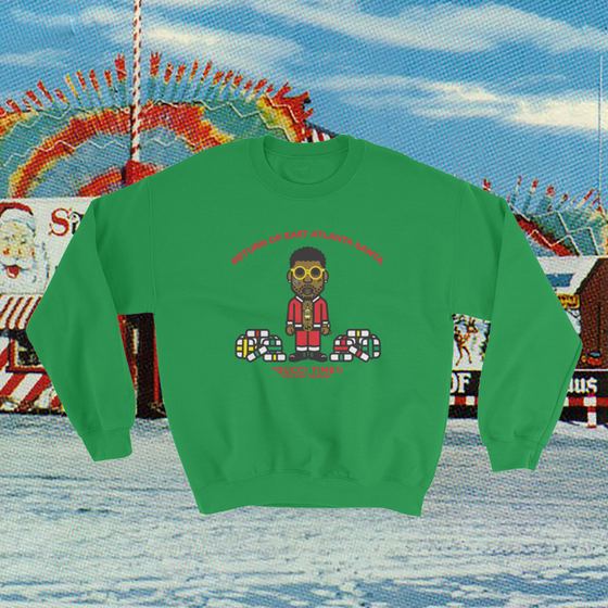 Gucci Mane holiday sweater
