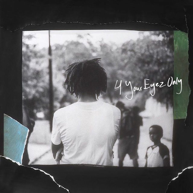 J. Cole 4 Your Eyez Only album cover art