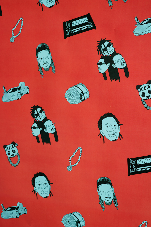Spotify Fetty Wap Young Thug wrapping paper