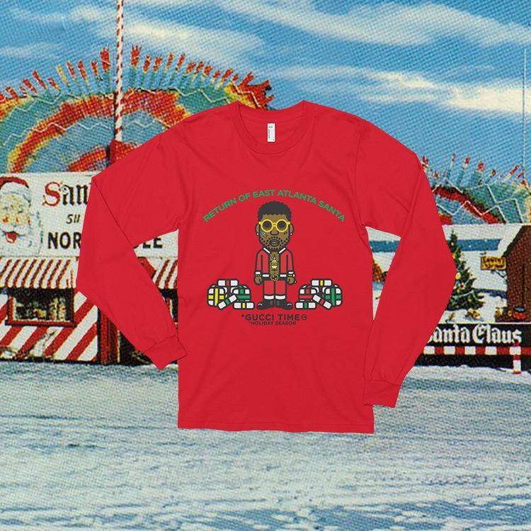 Gucci Mane Christmas T-shirt