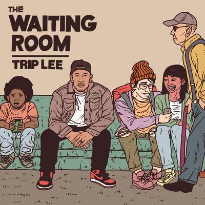 trip lee the waiting room mixtape cover art