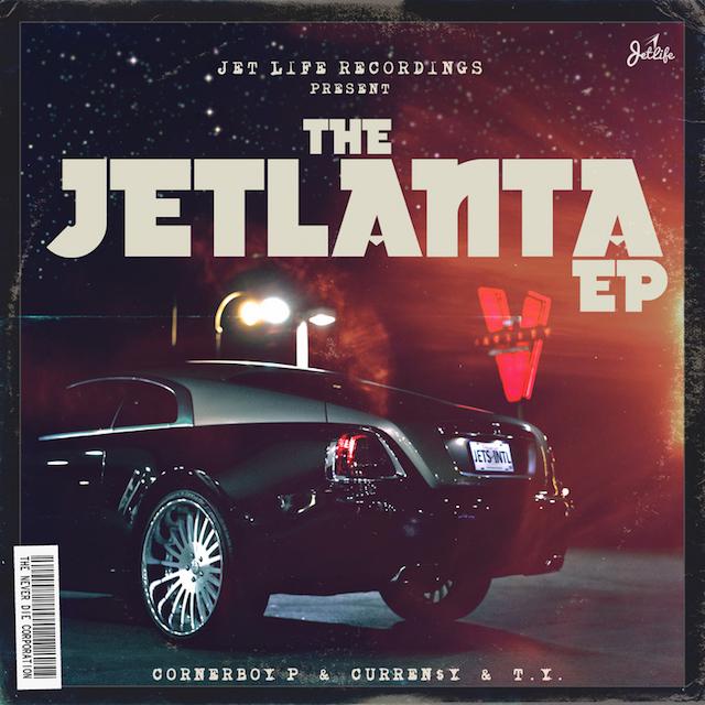 Currensy The Jetlanta EP cover art
